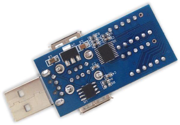 LC-Voltmeter-Modul DAYPOWER, USB - Produktbild 3