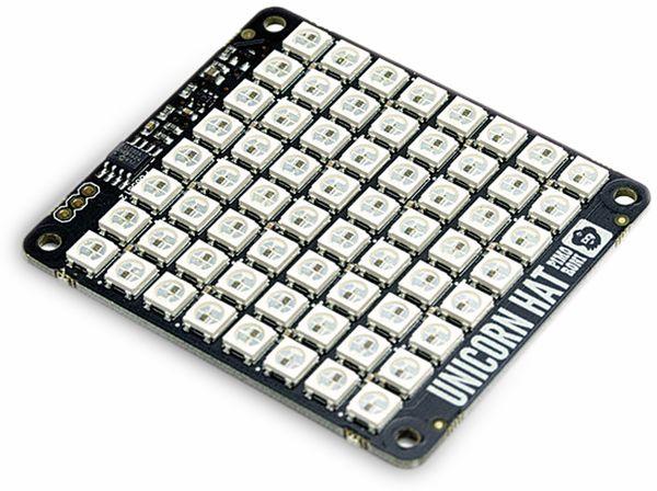 Raspberry Pi RGB-LED-Matrix UNICORN HAT