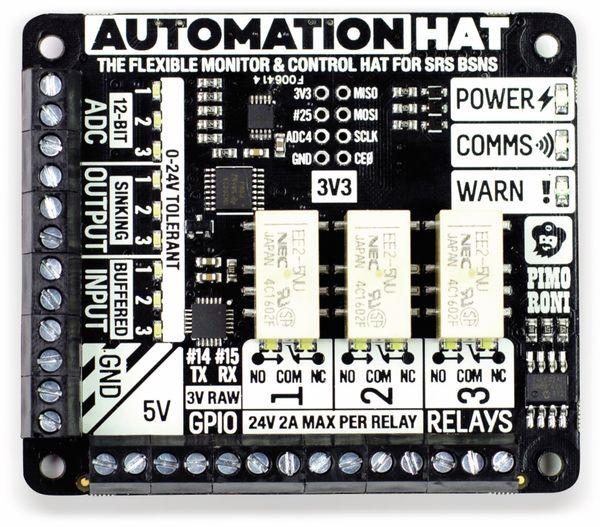 Raspberry Pi Automation HAT