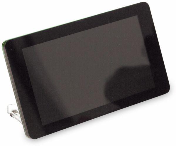 "Raspberry Pi 7"" Touch-Display-Rahmen schwarz - Produktbild 1"