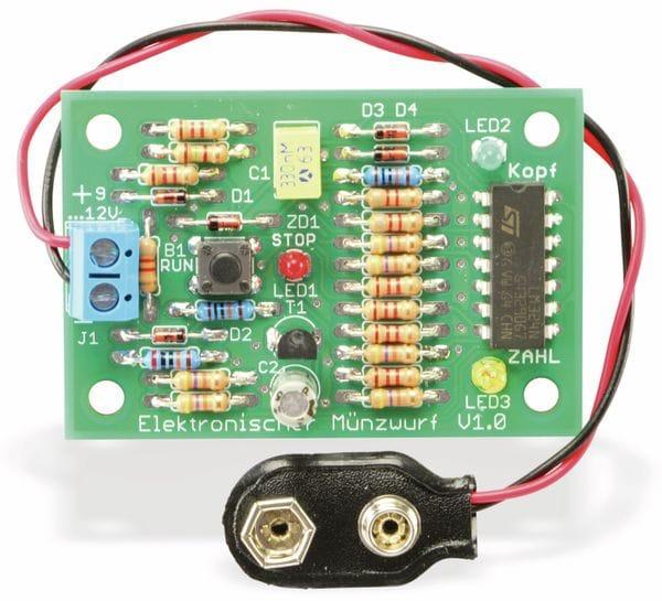 """Bausatz """"Elektronischer Münzwurf"""" V1.0 - Produktbild 4"""