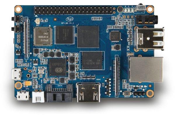 Banana Pi M3 Entwicklungsboard - Produktbild 2