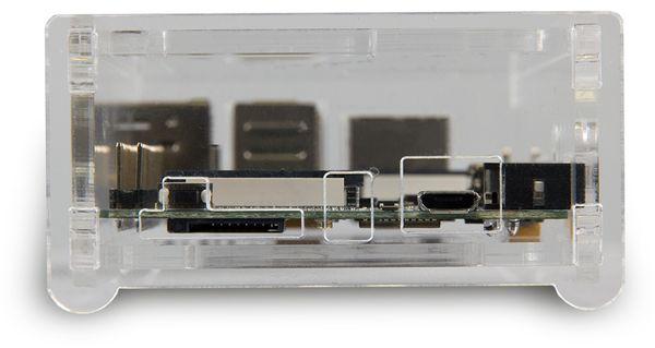 Banana Pi M2 Gehäuse Acryl transparent - Produktbild 2