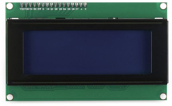 JOY-IT Display 20x4 Zeichen blau I2C - Produktbild 3