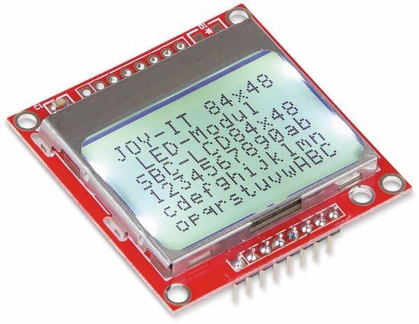 JOY-IT LCD Display 84x48 Pixel - Produktbild 1