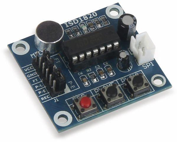 JOY-IT Soundrecorder und Abspielgerät - Produktbild 1