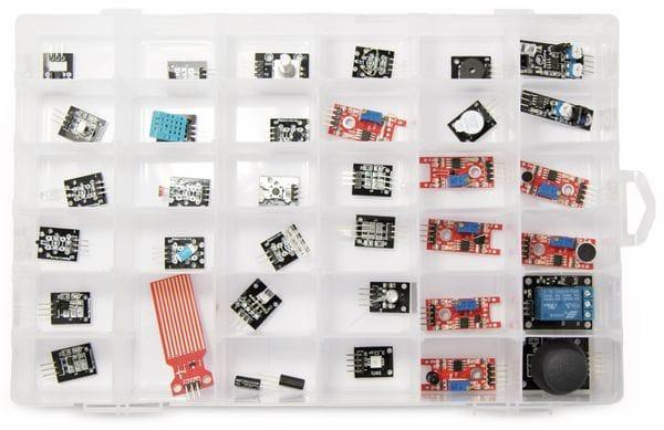 Umfangreiches Sensoren & Aktoren Kit für Raspberry Pi - Produktbild 1