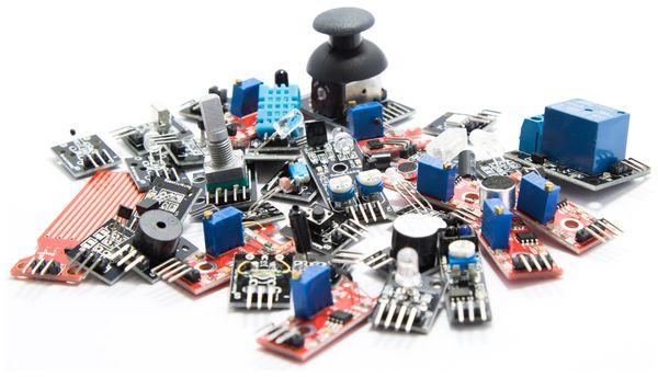Umfangreiches Sensoren & Aktoren Kit für Raspberry Pi - Produktbild 2