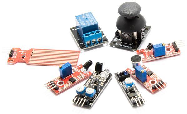 Umfangreiches Sensoren & Aktoren Kit für Raspberry Pi - Produktbild 3