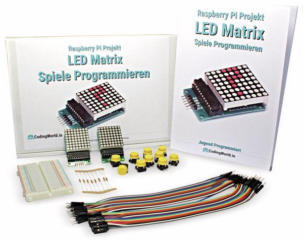 Spiele Programmieren mit der LED Matrix für Raspberry Pi