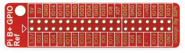 Raspberry Pi GPIO Referenz Platine - Produktbild 2