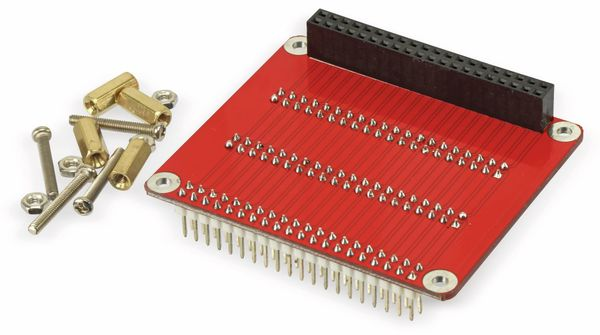 Raspberry Pi GPIO 3-fach Erweiterungsplatine - Produktbild 3