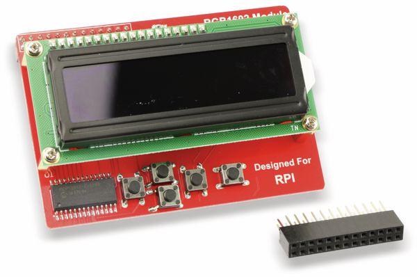 Raspberry Pi RGB 16X2 LCD+Keypad Board