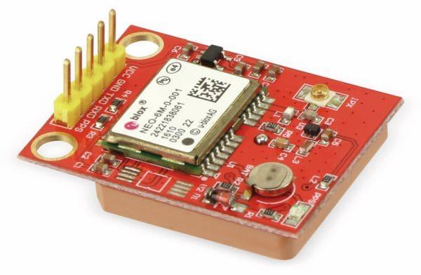 Erweiterungsplatine TTL Port GPS für Einplatinencomputer - Produktbild 3