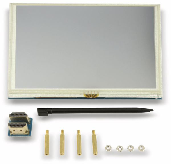 "Raspberry Pi Touch-LCD 5"" (12,7 cm)"