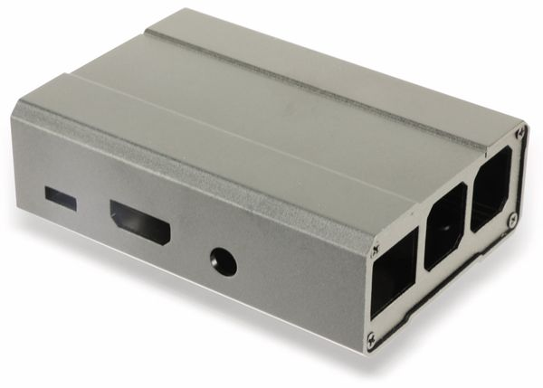 Raspberry Pi Aluminium Gehäuse - Produktbild 1