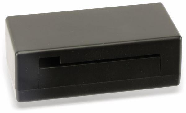 Raspberry Pi Zero Gehäuse, Kunststoff, schwarz - Produktbild 1
