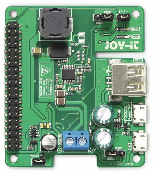 JOY-IT StromPI 2 Erweiterungsplatine (6 V - 61 V) - Produktbild 2