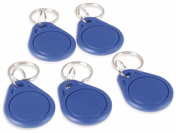 JOY-IT RFID Schlüsselanhänger Clips 5 Stück