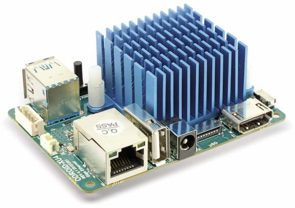 ODROID-XU4Q Einplatinen-Computer, SAMSUNG Exynos 5422, 2 GB, 2x USB 3.0 - Produktbild 1