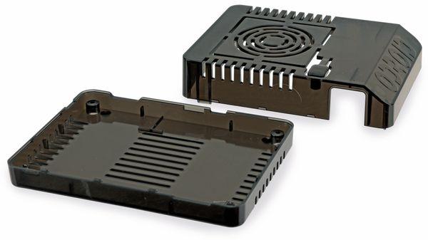 ODROID-XU4Q Gehäuse, schwarz - Produktbild 1