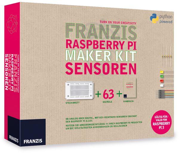 Lernpaket FRANZIS Raspberry Pi Maker Kit Sensoren - Produktbild 1