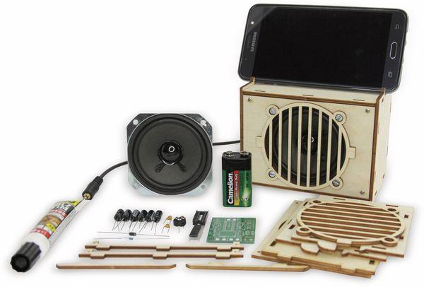 """Lötbausatz """"Aktivbox für Smartphones und MP3"""" - Produktbild 1"""