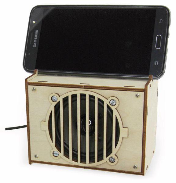 """Lötbausatz """"Aktivbox für Smartphones und MP3"""" - Produktbild 3"""