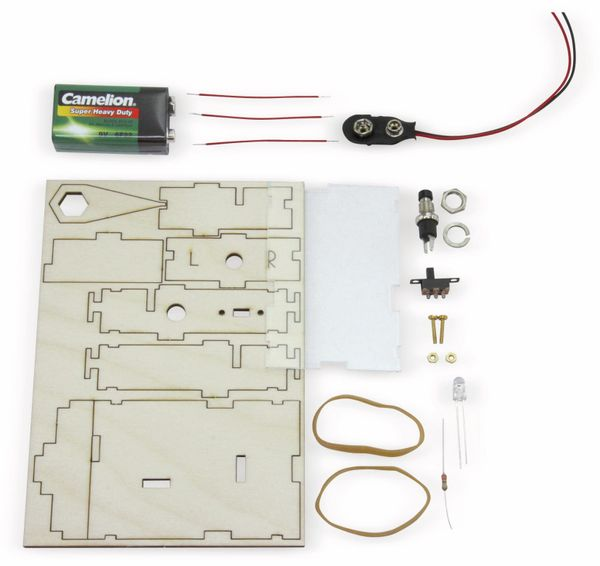 Einsteiger Lötbausatz Taschenlampe - Produktbild 3