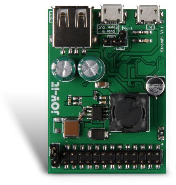 Strom Pi, USV, Erweiterungsplatine JOY IT - Produktbild 1