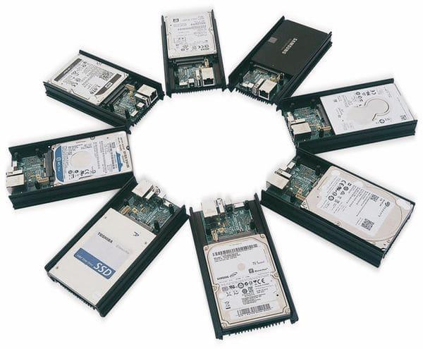ODROID-HC1 Einplatinen Computer für NAS und Cluster Anwendungen - Produktbild 3