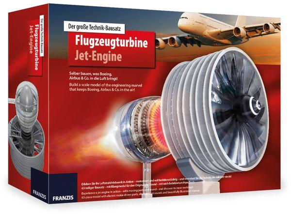Lernbausatz FRANZIS Flugzeugturbine - Produktbild 1