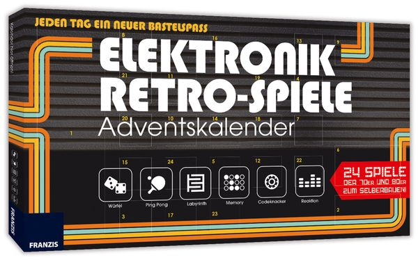 Lernpaket Franzis Retro-Spiele Adventskalender - Produktbild 1