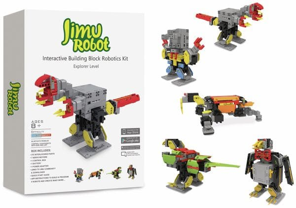 Roboter-Baukastensystem UBTECH Jimu Robot Explorer Kit - Produktbild 1