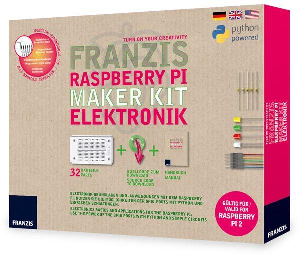 Lernpaket FRANZIS Raspberry Pi Maker Kit Elektronik - Produktbild 2