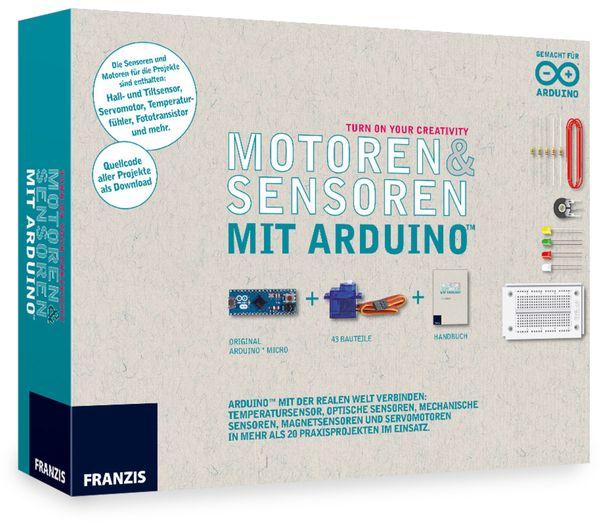FRANZIS Motoren & Sensoren mit Arduino - Produktbild 1