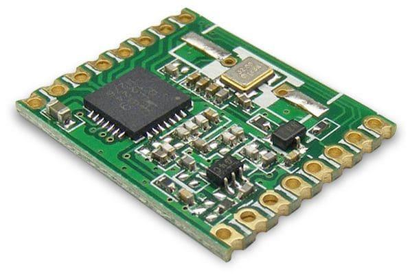 Funkmodul HOPERF RFM69HW-433S2, 433MHz, TX/RX
