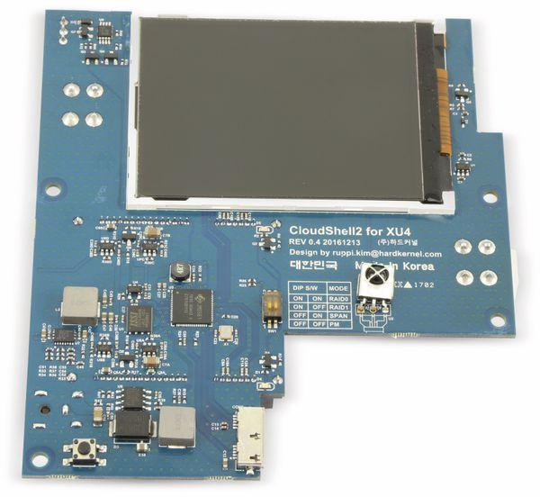 "ODROID-XU4 CloudShell 2 Case 2 mit 2,8"" TFT Display, transparent klar - Produktbild 4"