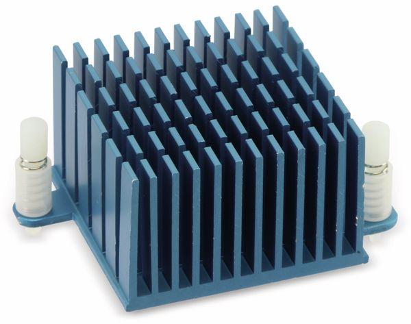 Kühlkörper für ODROID XU4 blau - Produktbild 1