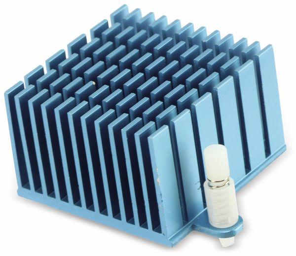 Kühlkörper für ODROID XU4 blau - Produktbild 2