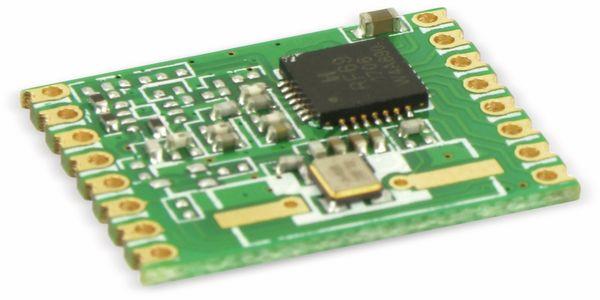 Funkmodul HOPERF RFM69W, 868 MHz, S2, TX/RX - Produktbild 2