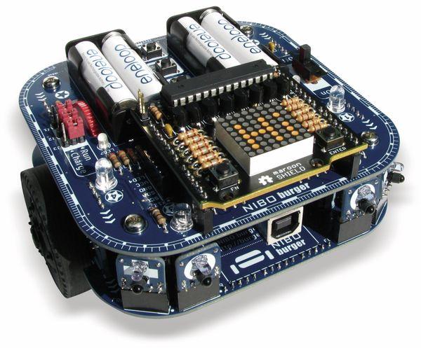maroon SHIELD NICAI SYSTEMS, 8×8 LED-Matrix-Display - Produktbild 2