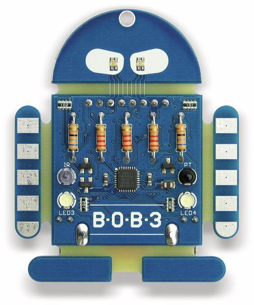 Bausatz BOB3 NICAI SYSTEMS Ein Roboter zum programmieren lernen - Produktbild 2