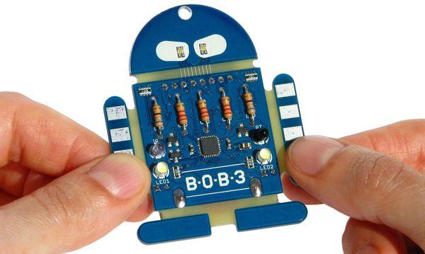 Bausatz BOB3 NICAI SYSTEMS Ein Roboter zum programmieren lernen - Produktbild 3