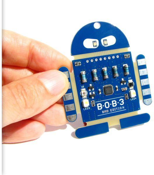 BOB3_SMD NICAI SYSTEMS Ein Roboter zum Programmieren lernen