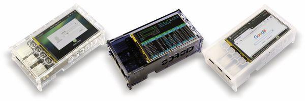 ODROID-C1/C2 LCD Shield Gehäuse, rauch-blau - Produktbild 2