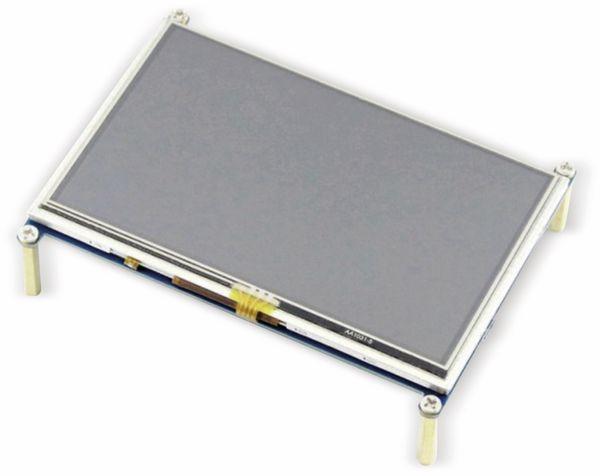 "JOY-IT Touchscreen Display, HDMI, Raspberry Pi, 5"", 800x480 - Produktbild 2"