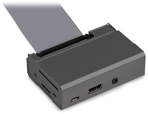 JOY-IT Alu Gehäuse für Raspberry Pi, schwarz - Produktbild 5