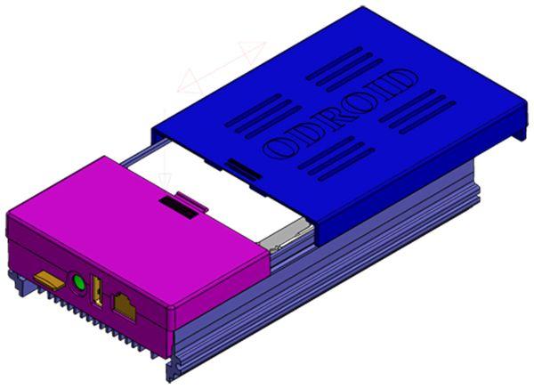ODROID-HC1 Gehäuse, transparent - Produktbild 6