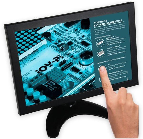 """JOY-IT 10"""" Touch Display im Metallgehäuse für Raspberry Pi"""